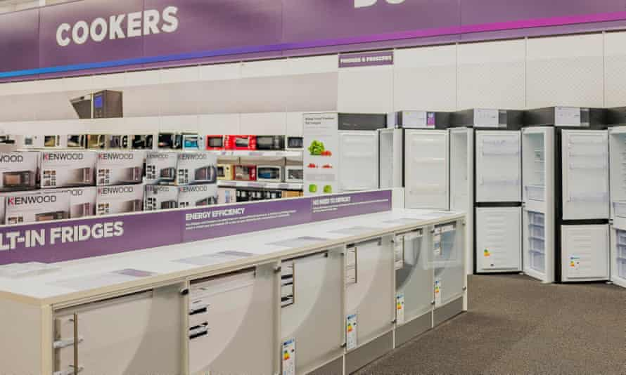 When buying an appliance from Currys, sales tactics include selling care plans.