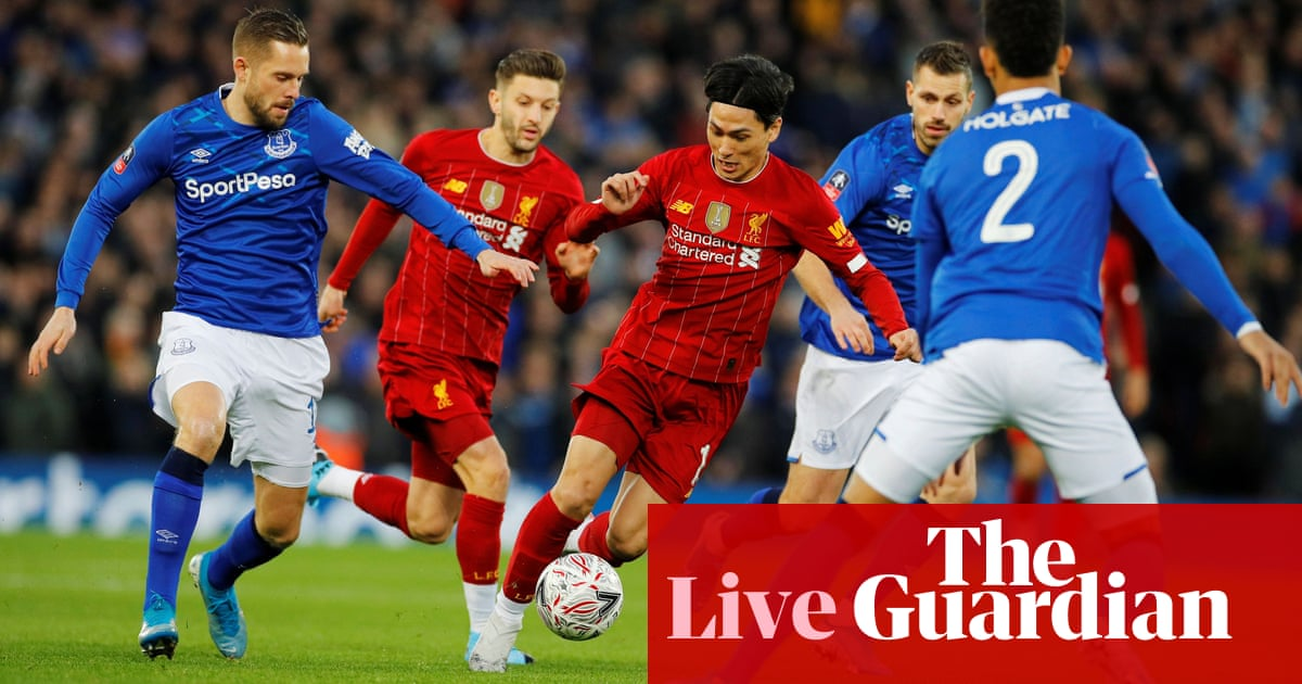 Liverpool v Everton: FA Cup third round – live!