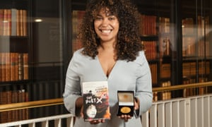 Elizabeth Acevedo, winner of the Carnegie medal 2019. The first ever person of colour to win the prestigious UK children's prize