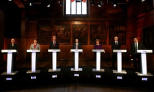 The six leaders in Scotland go head to head.