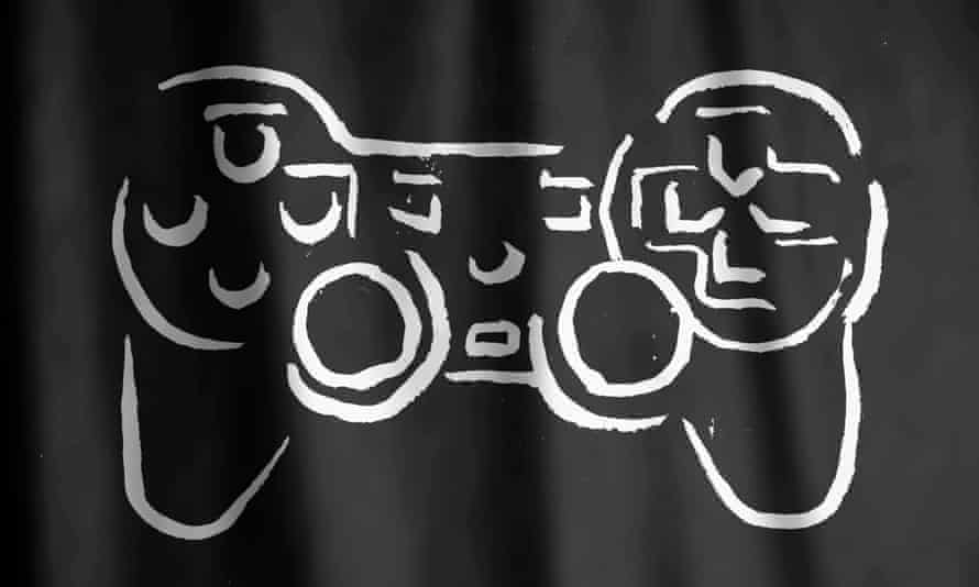 Isis flag meets video game controller Illustration by Paddy Molloy
