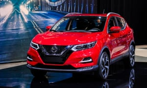The 2020 Nissan Rogue Sport SUV is introduced at the Chicago Auto Show