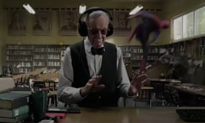 Stan Lee movie cameos - The Amazing Spider-Man