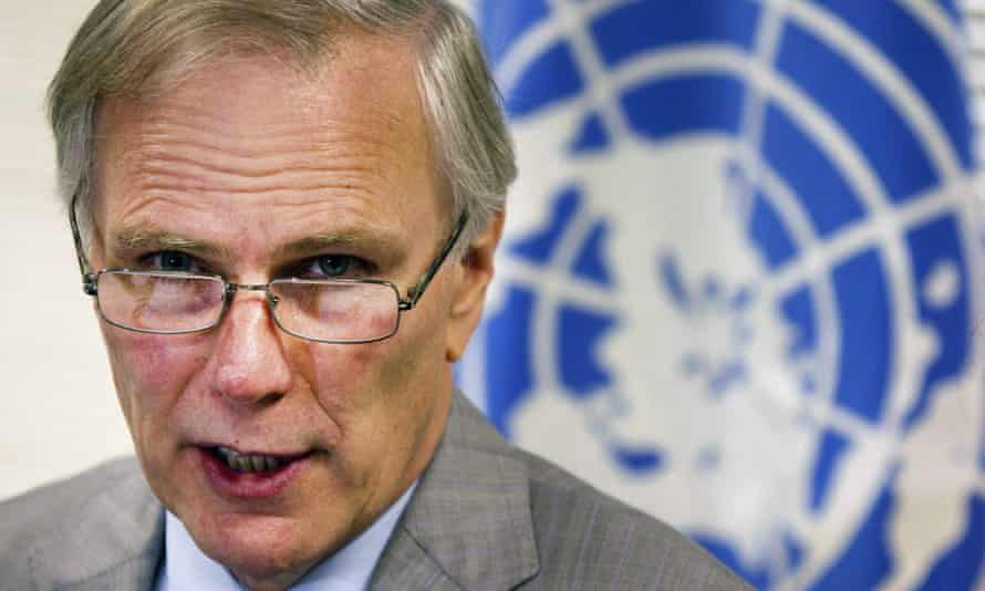 Philip Alston, United Nations Special Rapporteur on extreme poverty and human rights