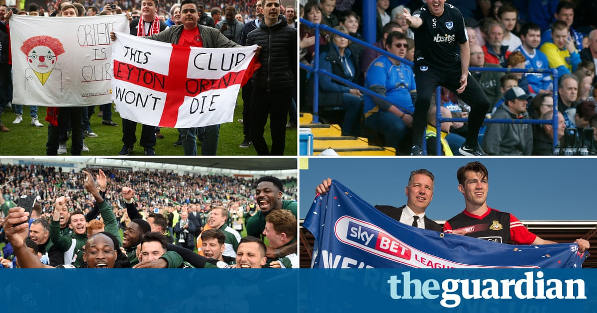 League Two: fans from all 24 clubs review their season