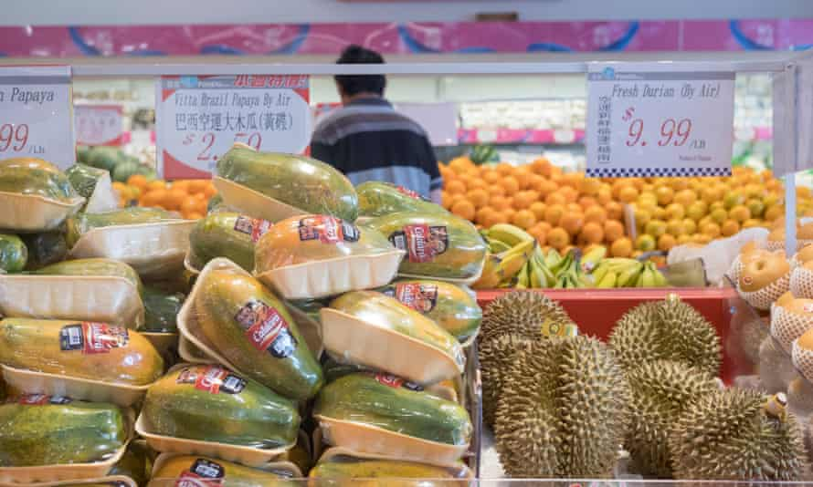 Foody delights for the Chinese population in Markham.