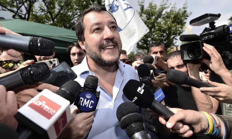 Matteo Salvini has vowed to take a tougher approach on immigration.