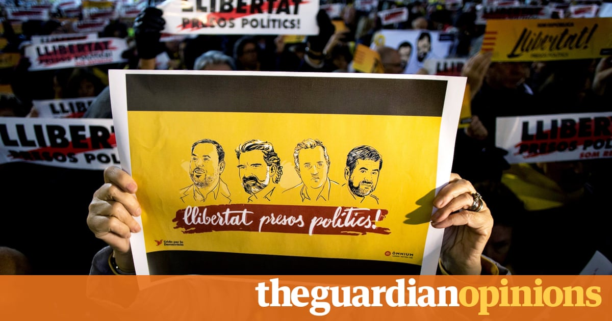 I'm in prison for defending Catalonia's rights. Spain must free us immediately | Jordi Cuixart