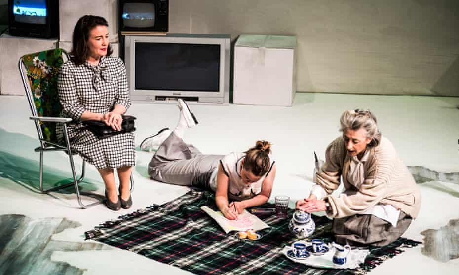 from left, Caroline Faber, Katie Brayben and Maureen Lipman in My Mother Said I Never Should.