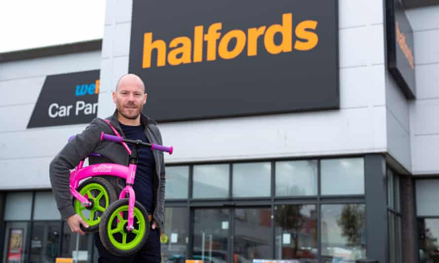 The new Trunki balance bikes and scooters have proved popular at Halfords.