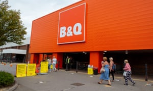 A B&Q store in Slough, Berkshire.