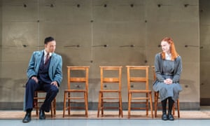 Kit Young and Rona Morison in The Prime of Miss Jean Brodie at Donmar Warehouse.