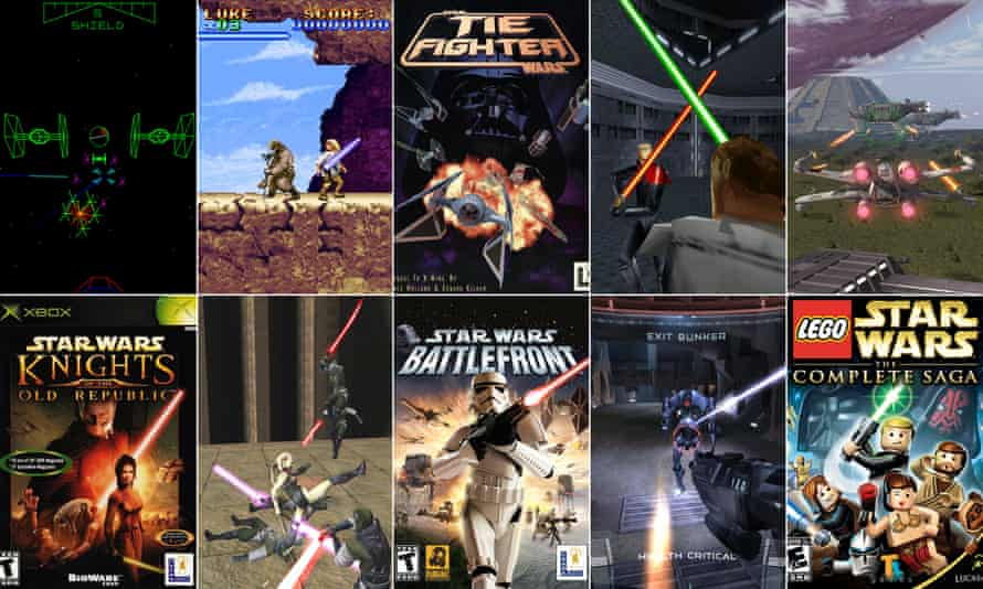 Our pick of the best Star Wars games.