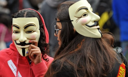 Occupy London protesters in 2011.