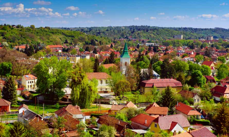 Miskolc, in north-east Hungary