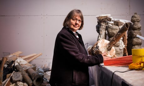 Phyllida Barlow: an artistic outsider who has finally come inside