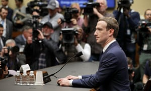 Mark Zuckerberg testifies before the committees of the US Congress