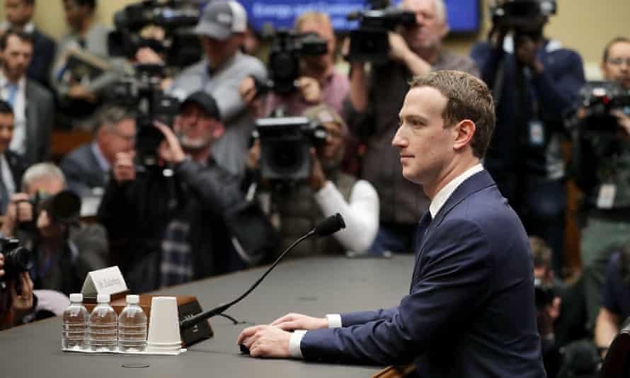 Mark Zuckerberg testifies before the committees of the US Congress