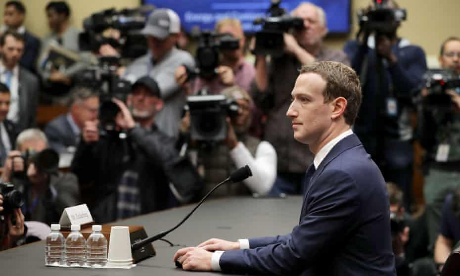 Mark Zuckerberg prepares to testify before the House Energy and Commerce Committee