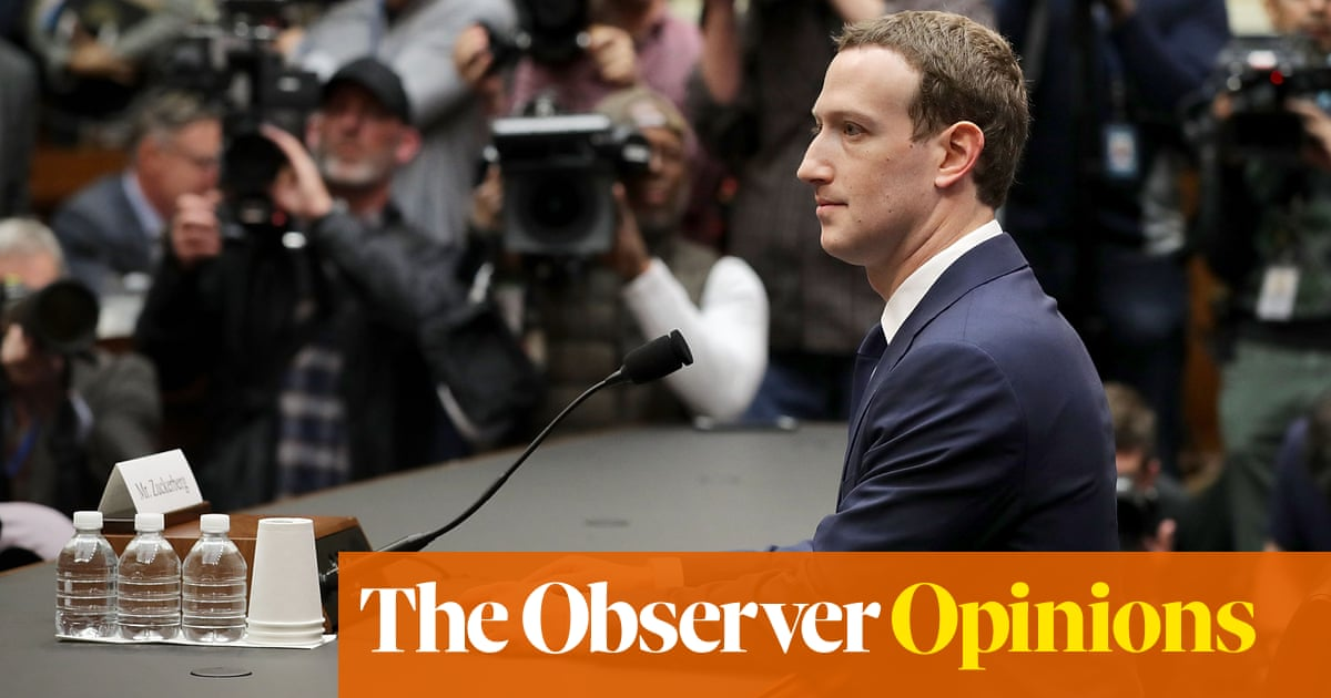 Facebooks 'oversight board' is proof that it wants to be regulated – by itself | John Naughton