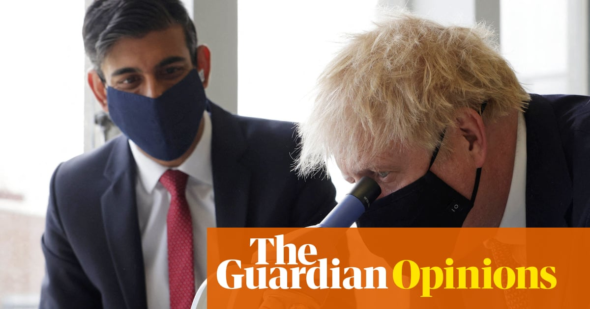 Is young Rishi about to shunt an ageing Boris into the role of wicked queen?