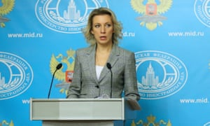 Russian Foreign Ministry's spokesperson Maria Zakharova - file photo
