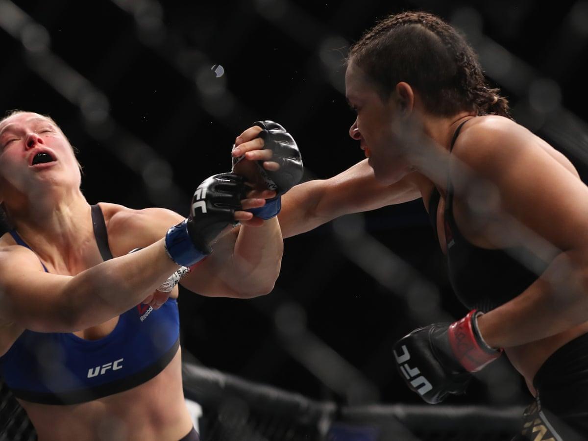 Ufc 207 Amanda Nunes Beats Ronda Rousey In 48 Seconds As It Happened Sport The Guardian