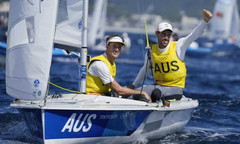 Australia's Will Ryan and Mathew Belcher