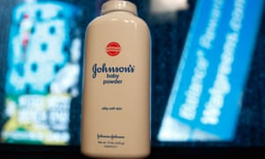 The company said 33,000 bottles of talcum powder will be recalled 'out of an abundance of caution'.