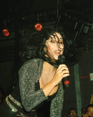 Cher at Heaven in 2008.