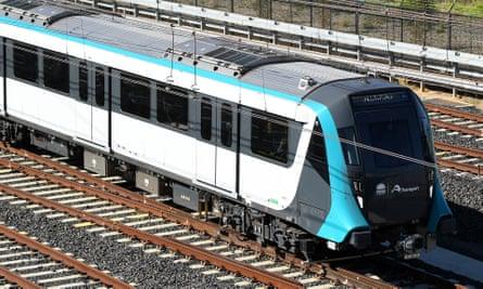 A Metro Northwest train