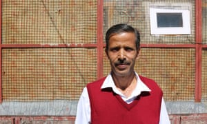 Ritaram Sham, a salesman in Shimla, India, who in says the community tap he and his neighbours rely on has been dry since May