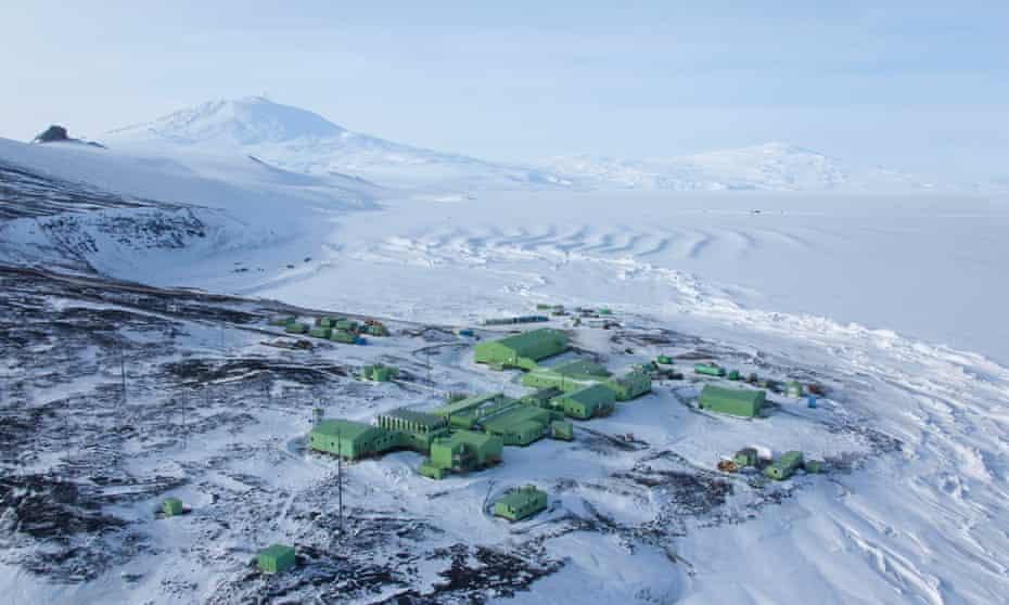New Zealand's existing Scott Base in Antarctica