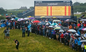 Shane Lowry enjoyed huge support from the crowds at Royal Portrush.
