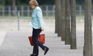 Chancellor Angela Merkel in Berlin