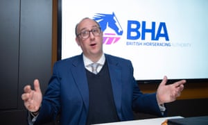 Nick Rust, chief executive of the British Horseracing Authority.