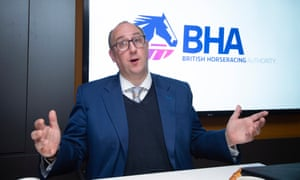 BHA chief executive Nick Rust during a press conference in London on Tuesday.