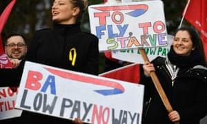 British Airways cabin crew set to stage new four-day strike