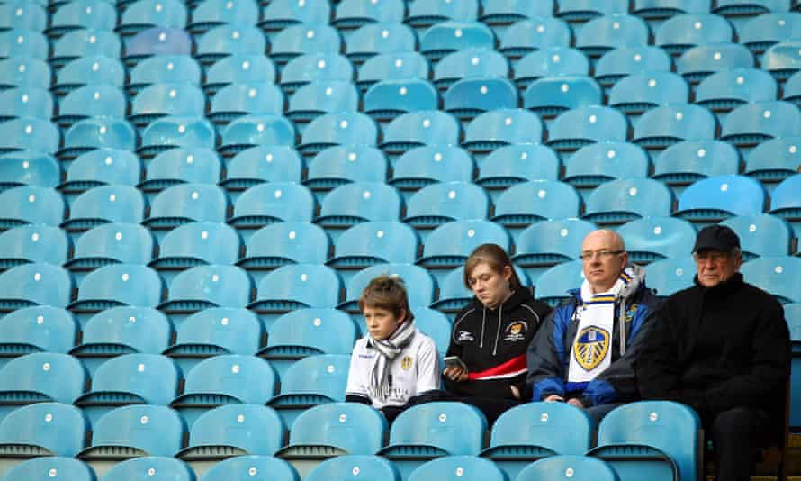 Times have been hard and not much fun for Leeds fans.