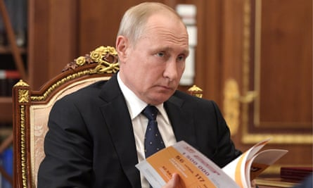 Vladimir Putin at a meeting in the Kremlin, June 2019