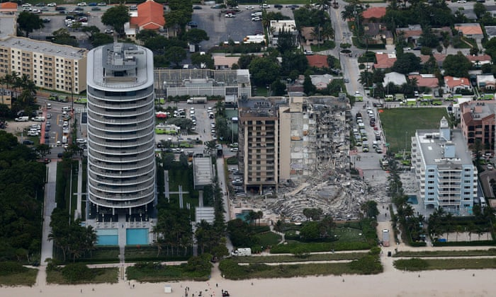 Miami building collapse: one dead as rescue crews say 99 unaccounted for,123news