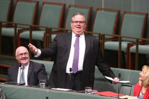 The member for Herbert Ewen Jones during question time in the house of representatives, Canberra. Tuesday 20th October 2015
