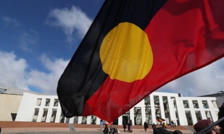 The Aboriginal flag was designed by Luritja artist Harold Thomas. In 2018, he granted Wam Clothing worldwide exclusive rights to use the flag on clothing.