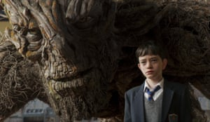 'A confidence far beyond his years': Lewis MacDougall in A Monster Calls.