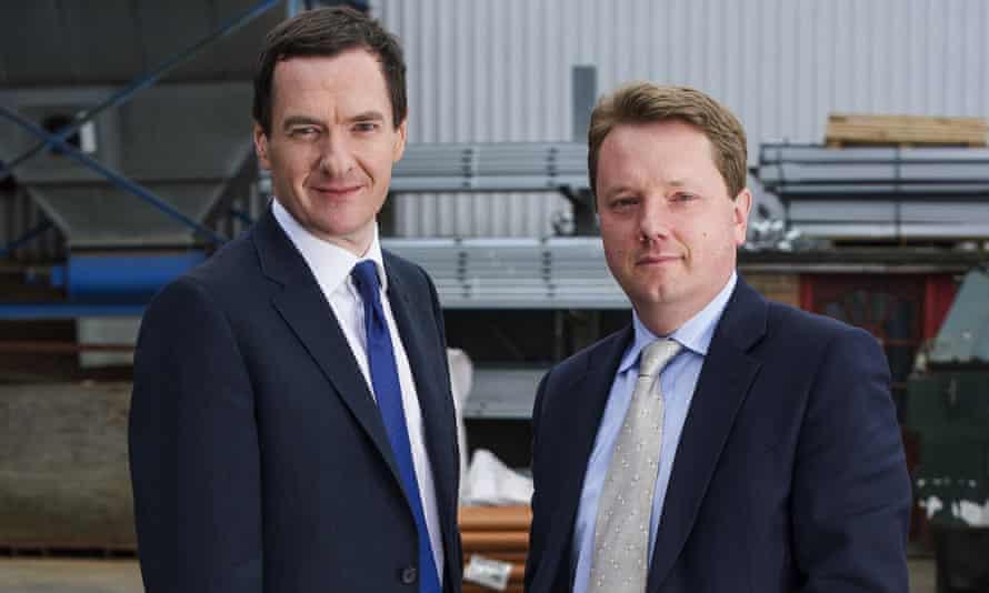 George Osborne and James Chapman