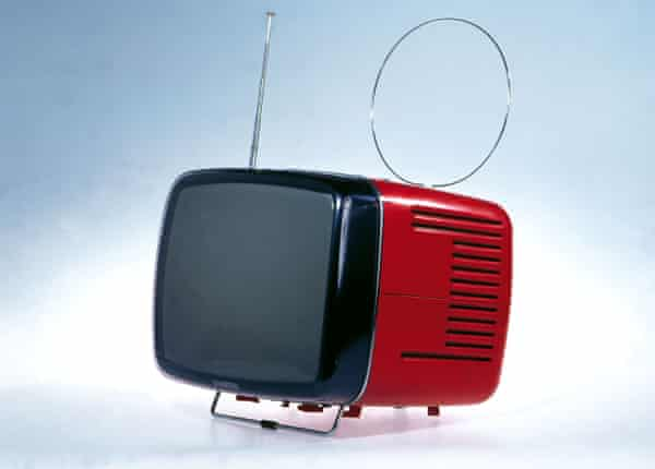 The Brionvega Doney 14 television set (1962) designed by Richard Sapper and Marco Zanuso.