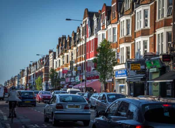 'It's so noisy': traffic along Green Lanes, Haringey, north London.