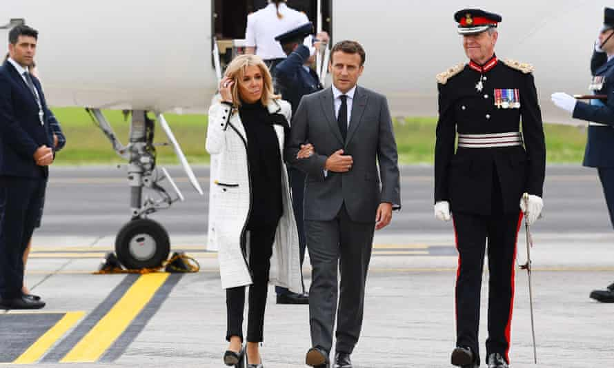 Brigitte Macron arrives