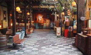 Inside Le Comptoir Général, a popular venue in Paris.