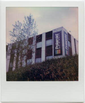 The last Polaroid factory in Enschede, the Netherlands.